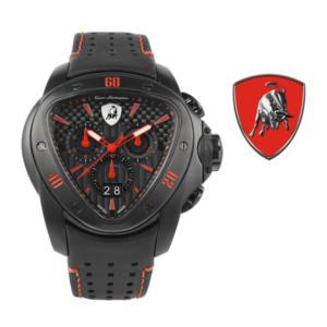Relógio Lamborghini® Spyder Chronograph Watch Red T9SA - Swiss Made