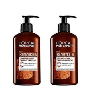 PACK 2 Champôs para Barba L'Oréal Paris Men Expert Cabelo Face 200 ml (Refurbished A+)