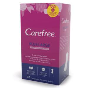 Salvaslip Protetor Maxi Fresh Carefree (36 uds)