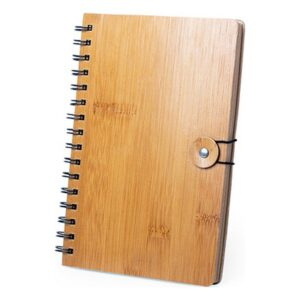 Caderno de Argolas (80 hojas) Bambu 146157 Natural