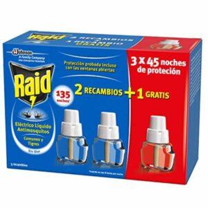 3 Recarga Anti-Mosquitos Raid