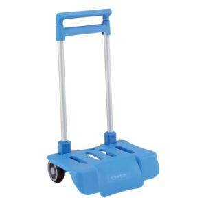 Carro Portamochilas Dobrável Safta Azul Claro