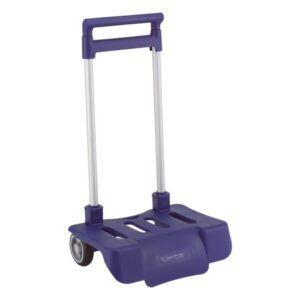Carro Portamochilas Dobrável Safta Azul Marinho