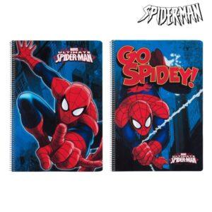 Caderno de Argolas Spiderman A4