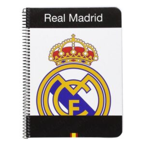 Caderno de Argolas Real Madrid C.F. A5