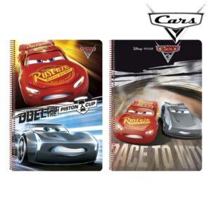 Caderno de Argolas Cars A4