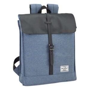 Mochila para notebook BlackFit8 14,1'' Azul Preto