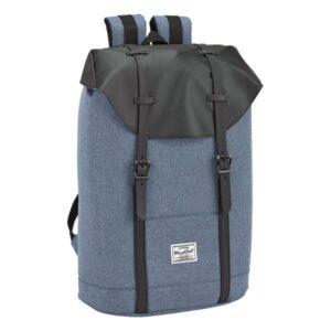 Mochila para notebook gaming BlackFit8 15,6'' Azul Preto