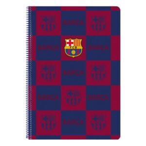 Caderno de Argolas F.C. Barcelona A4 Azul Marinho