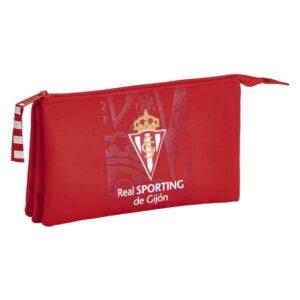 Estojo Real Sporting de Gijón Vermelho