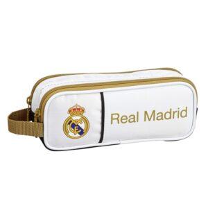 Estojo Real Madrid C.F. Branco Preto