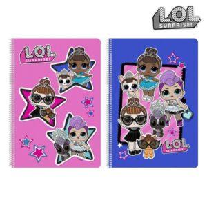 Caderno de Argolas LOL Surprise! Multicolor A4
