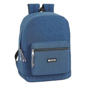 Mochila para notebook Moos Jeans 15,6'' Azul Marinho