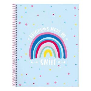 Caderno de Argolas Smile A4