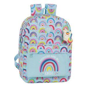 Mochila para notebook Glow Lab Rainbow 15,6''
