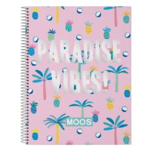 Caderno de Argolas Paradise Moos A4
