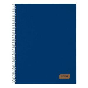 Caderno de Argolas Safta A4 Azul Marinho