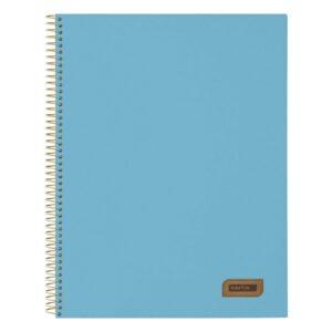 Caderno de Argolas Safta Azul A4