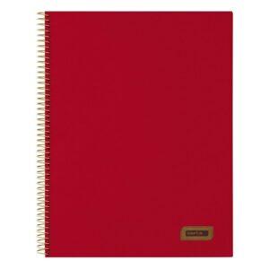 Caderno de Argolas Safta A4 Grená