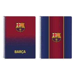 Caderno de Argolas F.C. Barcelona A5 Grená Azul Marinho