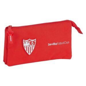 Estojo Sevilla Fútbol Club Vermelho