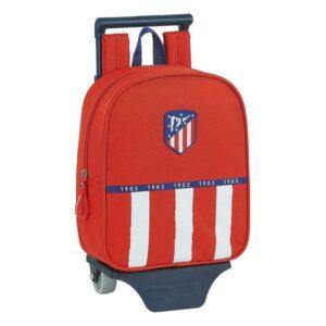 Mochila Escolar com Rodas 805 Atlético Madrid 20/21 Azul Branco Vermelho