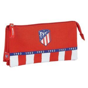 Estojo Atlético Madrid Azul Branco Vermelho