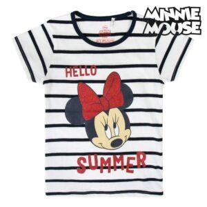 Camisola de Manga Curta Infantil Minnie Mouse 5 anos