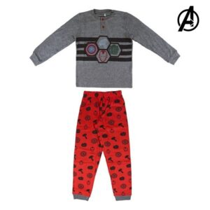 Pijama Infantil The Avengers 74181 Cinzento 12 anos