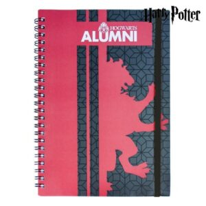 Caderno de Argolas Gryffindor Harry Potter