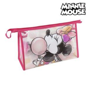 Nécessaire Escolar Minnie Mouse (6 pcs) Cor de rosa