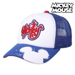 Boné Unissexo Mickey Mouse Branco (56 cm)