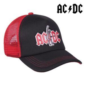 Boné Unissexo ACDC Vermelho Preto (58 cm)