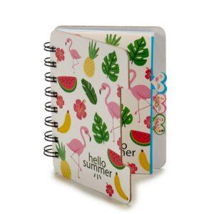 Caderno  (12 x 1 x 10 cm)