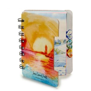 Caderno  (12 x 1 x 9,2 cm)