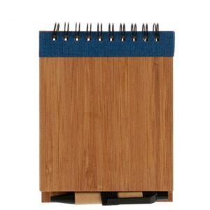 Caderno de Argolas com Caneta Bambu (1 x 10 x 13 cm)