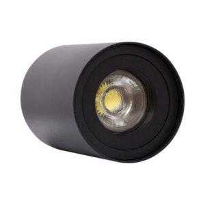 Luz de Teto LED Ledkia Preto 50 W (Ø 80 x 110 mm)