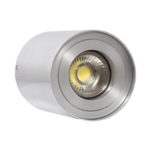 Luz de Teto LED Ledkia Prata 50 W (Ø 80 x 110 mm)