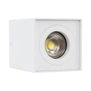 Luz de Teto LED Ledkia Branco 50 W (83 x 83 x 110 mm)