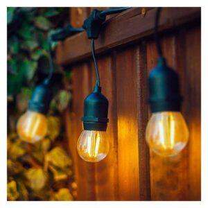 Grinalda de Luz LED Waterproof Ledkia 5,5 m Preto 200 W