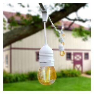 Grinalda de Luz LED Waterproof Ledkia 5,5 m 200 W (Branco Quente 2000K - 2500K)