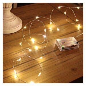 Grinalda de Luz LED Ledkia Sem fios (10 m)
