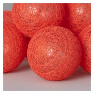 Garland de Bolas LED Ledkia Red Sugar Sem fios (4,35 m)