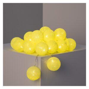 Garland de Bolas LED Ledkia Lemon Sem fios (4,35 m)