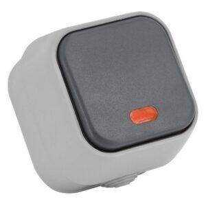 Interruptor único Ledkia IP54