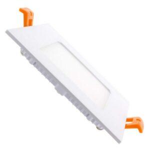 Placa LED Ledkia A 6 W 400 Lm (Branco frio 6000K - 6500K)