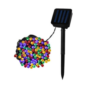 Grinalda de Luz LED Ledkia Solar 12 m A++ 0,5 W (RGB)