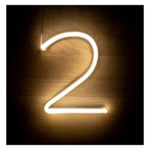 Letreiro 2 Fluorescente LED Ledkia  A+ 3 W