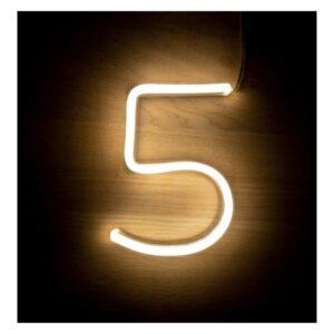 Letreiro 5 Fluorescente LED Ledkia A+ 3 W