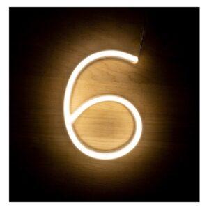 Letreiro 6 Fluorescente LED Ledkia A+ 3 W